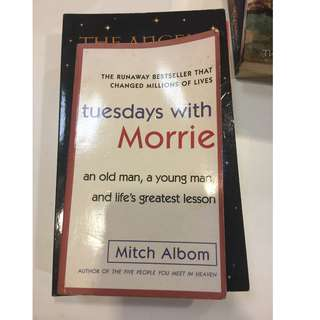 C252 BOOK - TUESDAYS WITH MORRIE