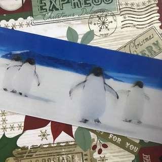 animation penguin ruler