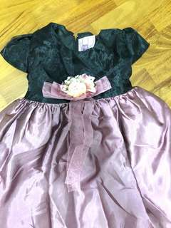 Baby Dress violette girls gown formal dress