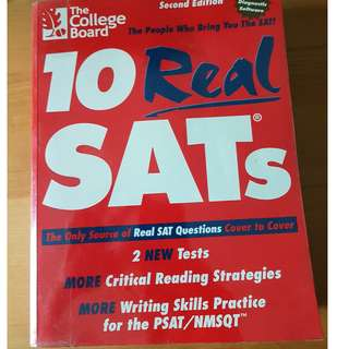 SAT test book - the college board (2nd edition)