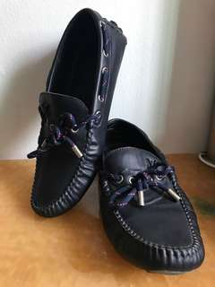 Authentic LV Boat shoes