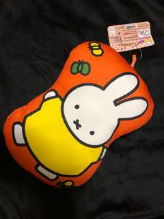 Japan made Miffy hand pillow
