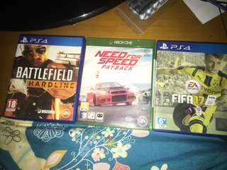 PS4 & XBOX ONE Games