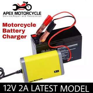 Smart Charging Motorcycle Battery