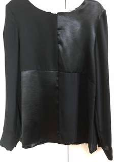 Black LS Blouse