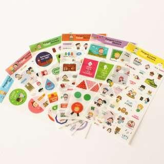 Sticker Set (Ref No.: 248)