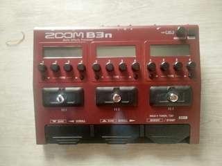 Efek digital bass B3N Zoom