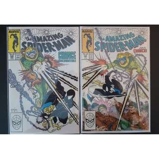 Amazing Spider-Man #298,#299 (1988, 1st Series) 1ST Todd McFarlane!First appearance of Eddie Brock (aka VENOM) RARE Must-Have Key-Books, ICONIC!