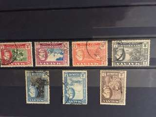 Old Malayan stamps