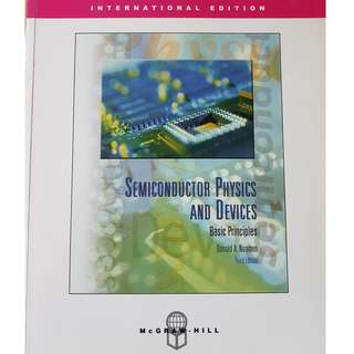 semiconductor physics and devices (3rd edition) by donald neamen book