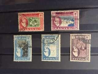 Old Terengganu stamps