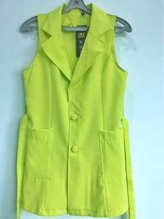 Neon yellow vest