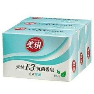 美琪香皂3塊(1塊100g)
