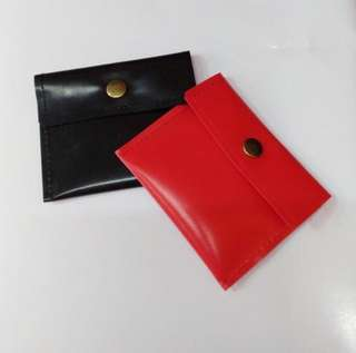 Chaaum Coin Holder - RED & BLACK