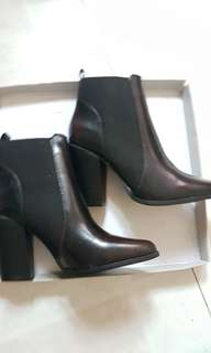 BNWT Heeled Black Boots (ONLY)