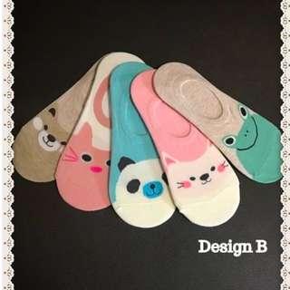 Korean Cute Socks For Sale ! (Design B)