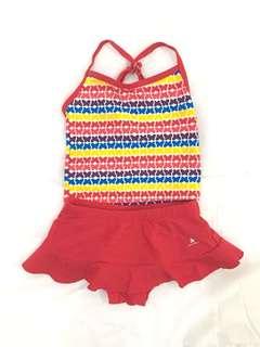Girl's Swim Suit 9M-12M