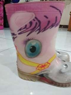 Sepatu boots APV - Pink horses