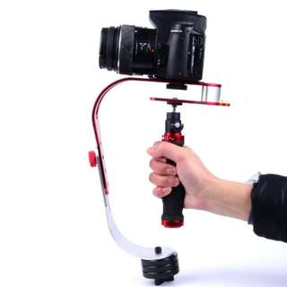 HANDHELD VIDEO CAMERA STABILIZER FOR DSLR