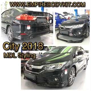 Honda City 2018 Bodykit