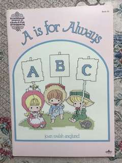 A is for Always Cross Stitch Book