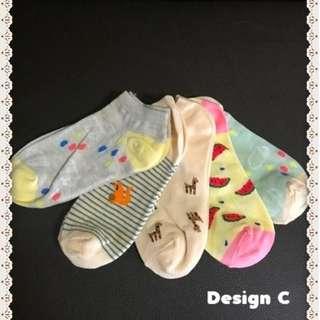 Korean Cute Socks For Sales ! (Design C)