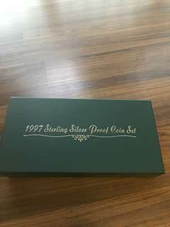 S62 - 1997 Singapore Proof Coin Set