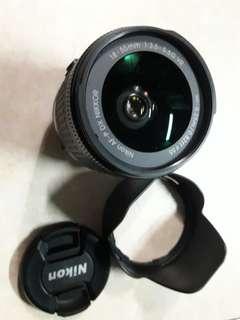 Nikon Lens 18-55mm f/3.5-5.6G DX VR AF-P