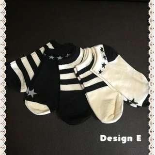 Korean Cute Socks For Sales ! (Design E)