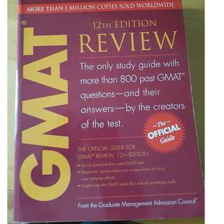 The offical GMAT guide 12th edition by gmac