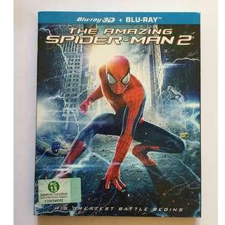 The Amazing Spider-Man 2 Blu Ray 3D + Blu Ray