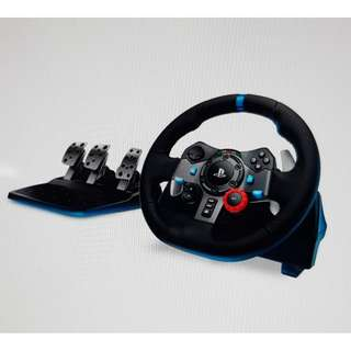 [for rent] Logitech G29 Driving Force Racing Wheel Ps 3 Ps 4