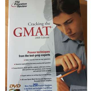 Cracking the GMAT (2008 edition) by the princeton review