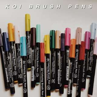 KOI BRUSH PENS