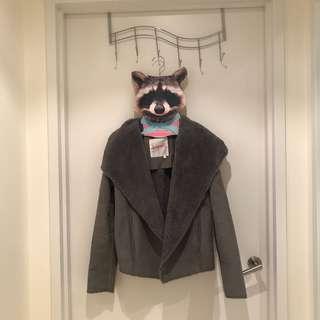 Supre grey jacket size 6