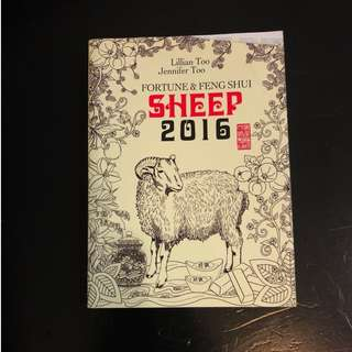C283 BOOK - FOUTUNE&FENGSHUI SHEEP 2016