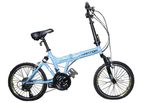 20 inch Phantom folding foldable adult bike full shock front n back Brandnew.black orange blue yellow 4 colors available.