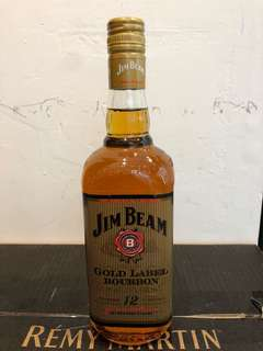 Jim beam gold label