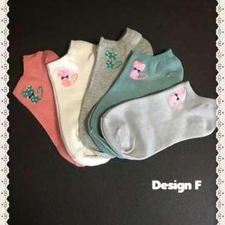 Korean Cute Socks For Sales ! (Design F)