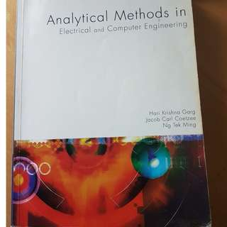 Analytical methods in Electrical and computer engineering by hari krishna garg