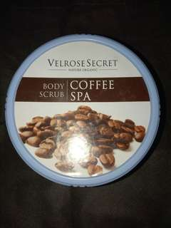 velrose secret body scrub coffee spa