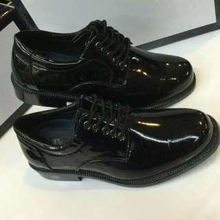 Franco vanucci Guard's Charol Shoes