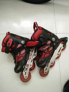 #Blessing Free Used Inline skate and helmet