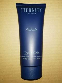 Calvin Klein eternity for men aftershave balm 100ml