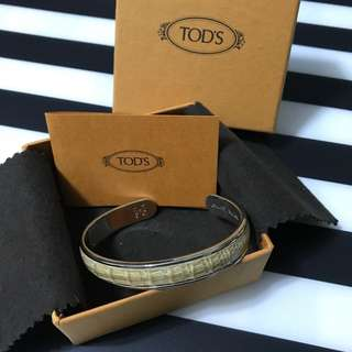 Preloved Tod's Leather Bangle