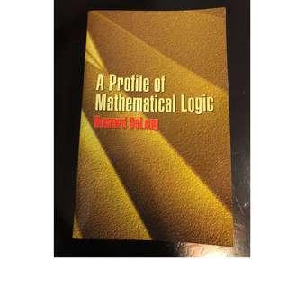 C285 BOOK - APROFILE OF MATHEMATICAL LOGIC