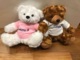 Malaysian airline soft toy