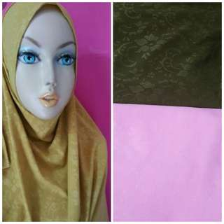 Instant shawl 2 face