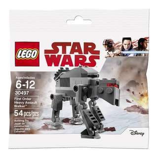[Unicque] Lego 30497 Star Wars polybag - First Order Heavy Assault Walker - Mini polybag