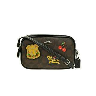 COACH F26608 COACH American Patches Crossbody BLACK